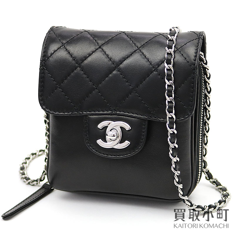 3ed633f573c9 Take Chanel matelasse flap chain wallet black lambskin here mark twist lock  quilting chain shoulder bag pochette classical music wallet wallet slant;  ...