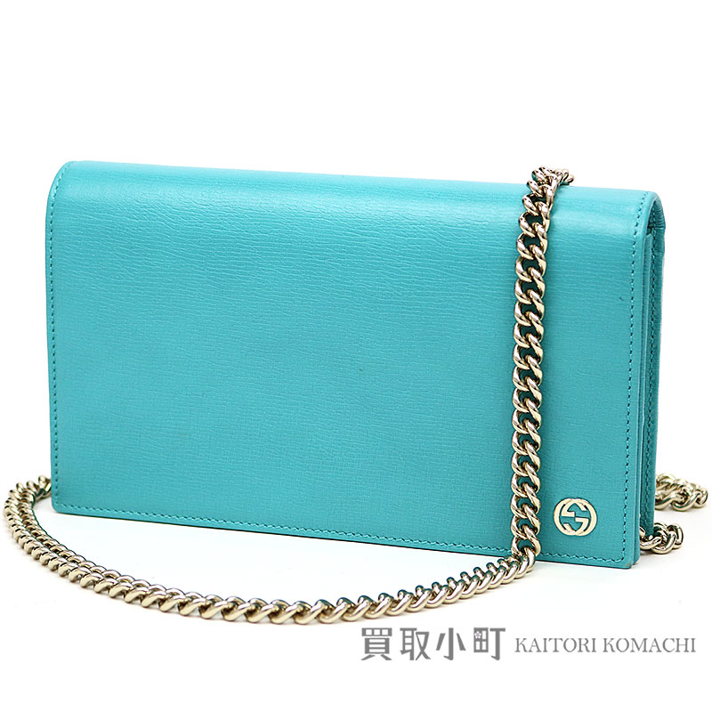 7dc27ffde45d KAITORIKOMACHI  Gucci interlocking grip G metal logo chain wallet ...