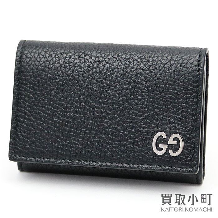pretty nice c2059 305bf 473923 card case business card holder durian double G-mans A7M0N 1000  DORIAN GG DORIAN LEATHER CARD CASE with the Gucci GG metal leather card  case ...