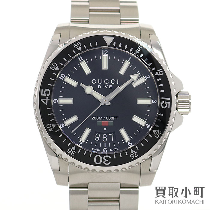 2835a03cb56 KAITORIKOMACHI  Watch 136.2 YA136301 GUCCIDIVE WATCH for the Gucci ...