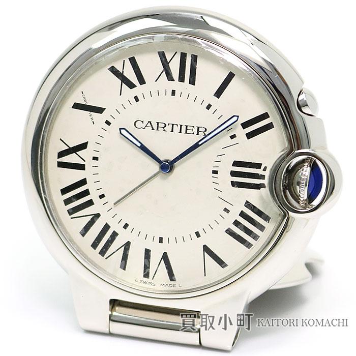 Cartier Baron Blue Do Cartier Clock Alarm Quartz Home Collection Table Clock  Travel Clock Table Clock W0100077 BALLON