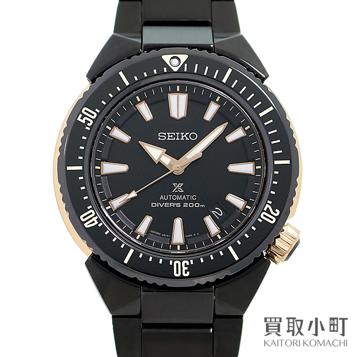 【美品】セイコー【SEIKO】 プロスペックス ダイバースキューバ トランスオーシャン オートマティック ブラック SSブレス メカニカル メンズ ダイバーズウォッチ 自動巻き 男性用腕時計 SBDC041 6R15-03F0 PROSPEX TRANSOCEAN DIVERSCUBA WATCH【Aランク】【中古】