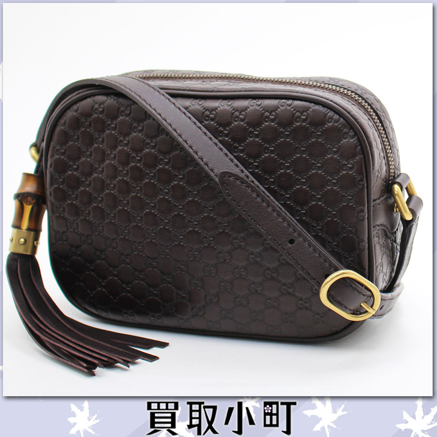 作为古驰(GUCCI)sanshaimmaikurogutchishimarezaminishorudabaggudakuburaunkafubambutasseruchamudisukobaggukurosubodi舔,是赊帐边缘微GG gutchishima SUNSHINE 309538 BMJ1T%OFF