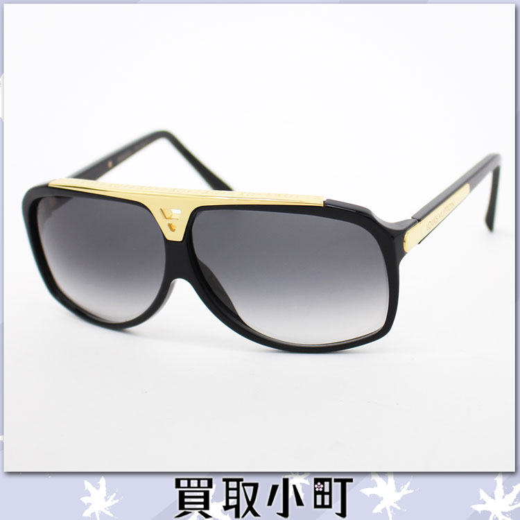 louis vuitton louis vuitton z0350e evidence sunglasses noir black gradient pilot style acetate frames