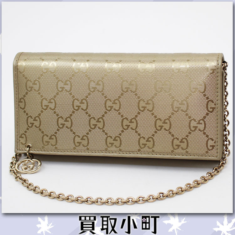 Gucci Wallet Gold