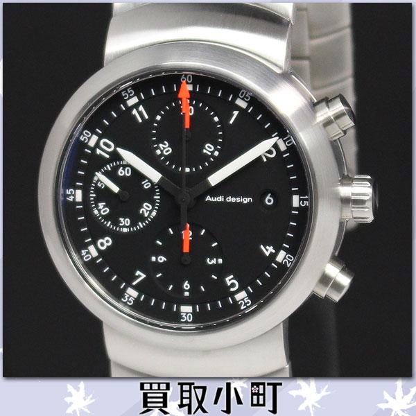 KAITORIKOMACHI Watch Back Skeleton Black Audi Design Circle - Audi circle