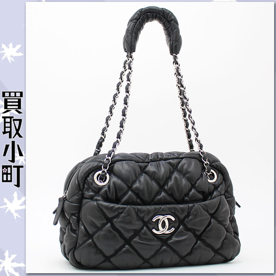 Kaitorikomachi Rakuten Global Market Chanel Quilted Bubble Chain