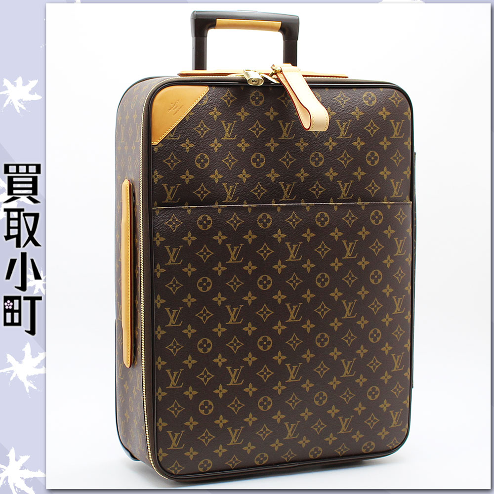 Trip bag travel kolo kolo cart Louis Vuitton LV PEGASE 55 Travel Rolling Luggages %OFF with the Louis Vuitton M23294 ペガス 55 monogram carry case trolley caster