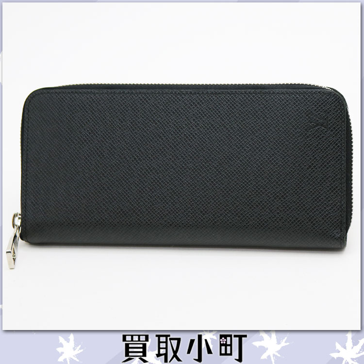 Louis Vuitton M32822 zippy wallet vertical Taiga who zip around wallet purse men's charcoal gray Louis Vuitton LV ZIPPY WALLET VERTICAL 20% off