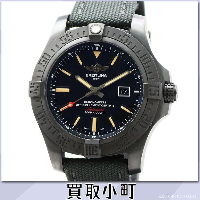 Watch Ref.V173 B12 MMA V1731010/BD12 V17310 AVENGER BLACKBIRD %OFF for the ブライトリングアベンジャーブラックバード 48MM black titanium military strap automatic men watch black dial self-winding watch man