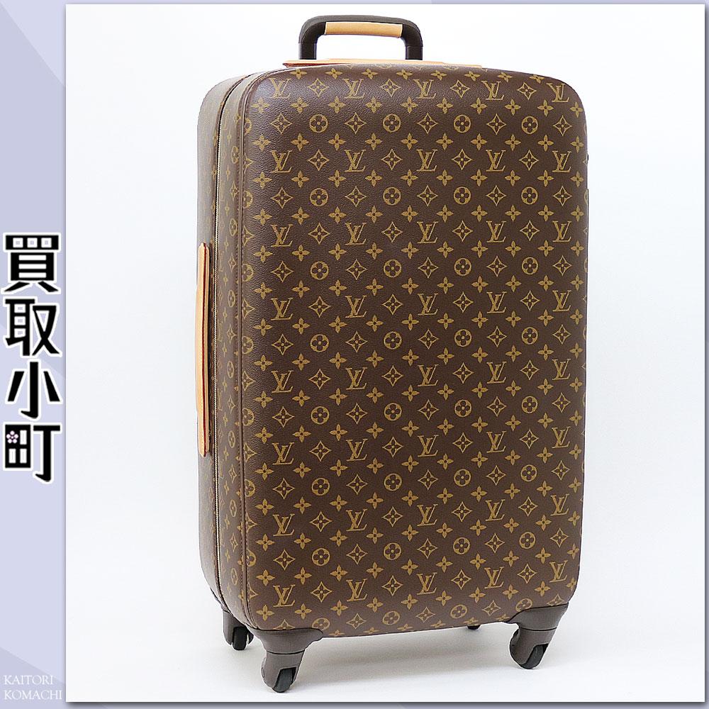 有路易威登M23031 zefiru 70交织字母4轮飞翔距离K罢工罗利旅行箱解说员的旅行包旅行轱辘轱辘地推车LV ZEPHYR 70 Monogram Travel Rolling Luggages