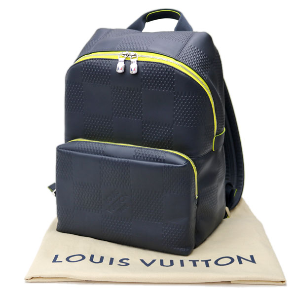 66fc820d86a5 Louis Vuitton N44016 アポロバックパックダミエアンフィニアスファルトブルー 2017 America s Cup men  backpack rucksack day pack case ad LV APOLLO BACKPACK ...