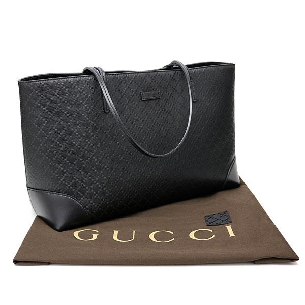 0f61d80ed822 KAITORIKOMACHI: Gucci Diamante Lux leather tote bag black calfskin ...