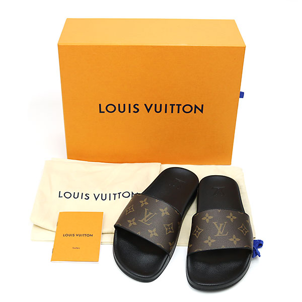 f9a4a11104de KAITORIKOMACHI  Louis Vuitton 1A3PS waterfront line mule monogram ...