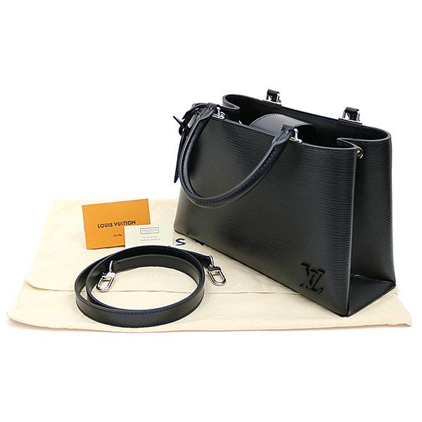 dd22f77e0da Louis Vuitton M51334 Kleber PM エピノワール 2WAY shoulder tote bag black leather  LV KLEBER PM EPI NOIR TOTE BAG