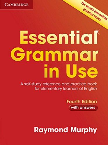 中古 Essential Grammar in Use with Answers: A Self-Study Reference Practice 格安激安 Raymond Learners 再入荷/予約販売! of Book Elementary English and Murphy for