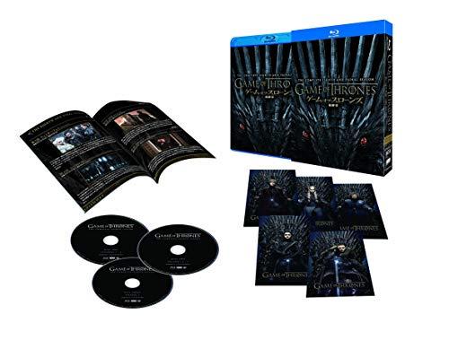 【中古】ゲーム・オブ・スローンズ 最終章 コンプリート・ボックス (初回限定版) [Blu-ray]