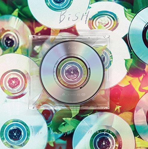 中古 Life 公式ショップ is beautiful HiDE the BLUE SINGLE CD 初回生産限定盤 店内全品対象 BiSH +Blu-ray Disc+豪華写真集 8cm