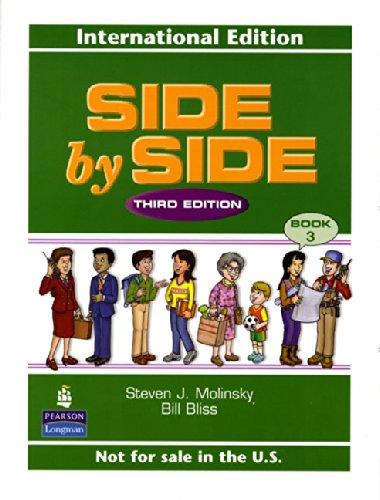 中古 Side by Level 3 買い物 Student J. Bliss Book 高品質 Molinsky Steven Bill