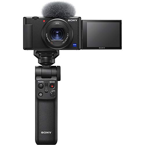 【中古】ソニー Vlog用カメラ VLOGCAM シューティンググリップキット ZV-1G