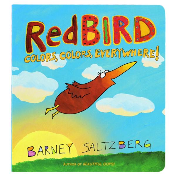 Red 定番スタイル BIRD COLORS EVERYWHERE 英語絵本 幼児本 レッドバード 色 どこでも 贈答品