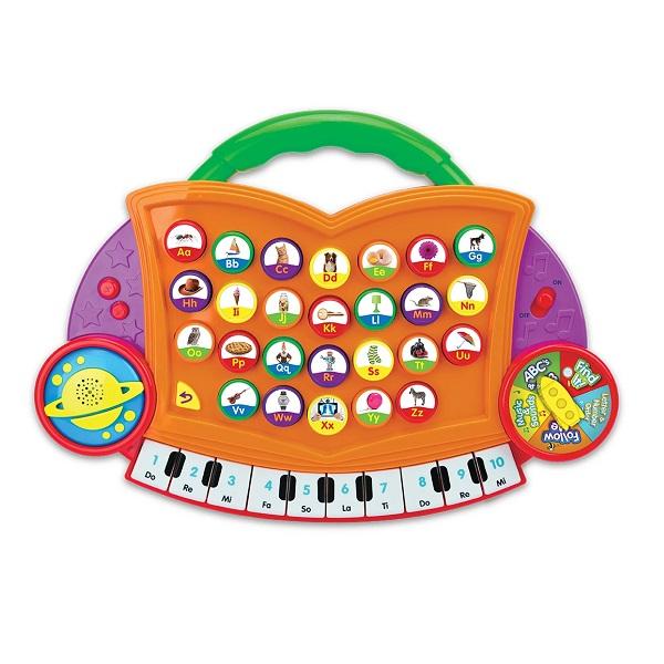 子供英語教育おもちゃ アルファベットと単語 発音機能付き 正規逆輸入品 プライマリー ABC Maker オレンジ 毎週更新  Melody