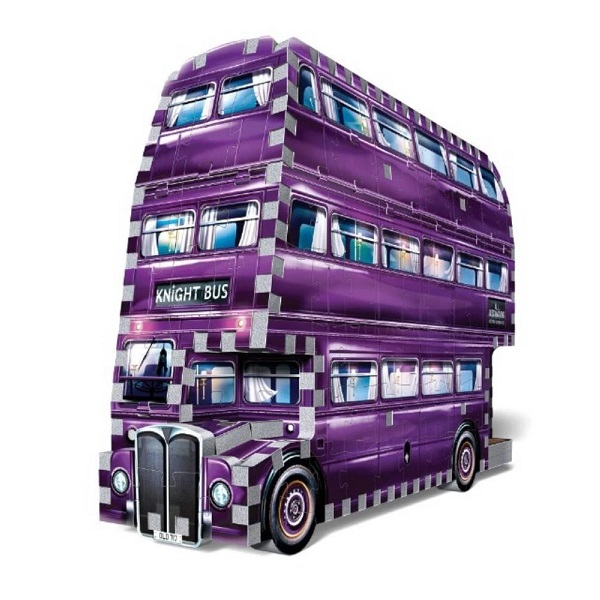 Wrebbit 【 ハリー・ポッター / 3D パズル 騎士バス Harry Potter The Knight Bus / 280ピース】