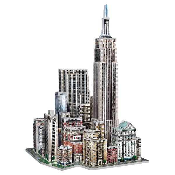 Wrebbit 【 3D パズル / Midtown West New York ニューヨーク / 900ピース】