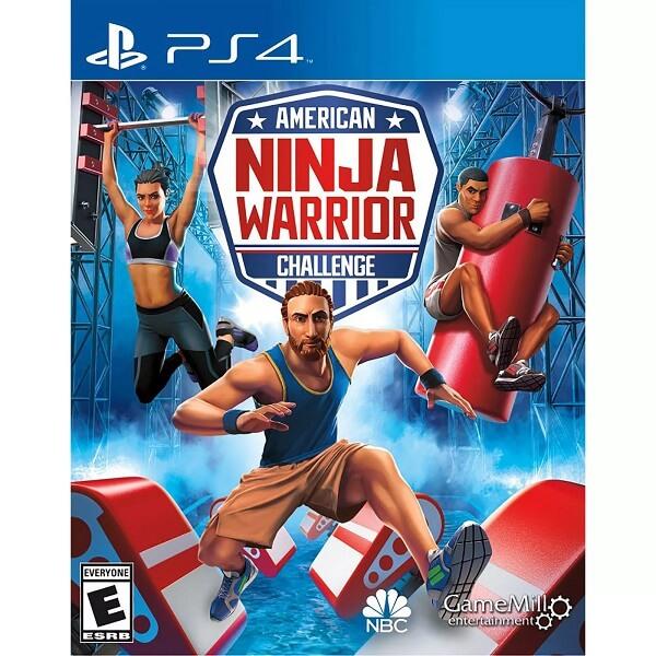 ゲームソフト【American Ninja Warrior Challenge アメリカン ニンジャウォリアー チャレンジ / サスケ / ゲーム 北米版 対応機:PS4 / Xbox One / Nintendo Switch 】