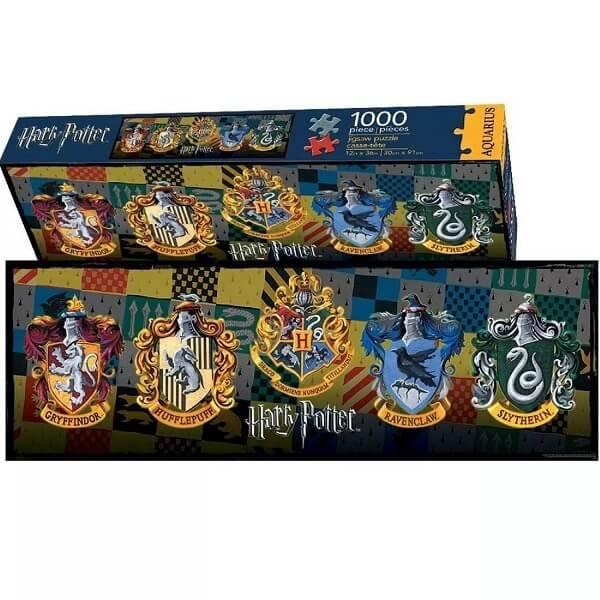 Harry Potter 【 ハリーポッター ジグソーパズル / ホグワーツ ハンドペイント風 紋章 / 1000ピース 】