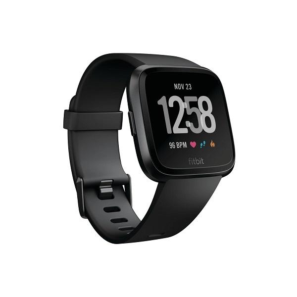 Fitbit【 フィットビット / スマートウォッチ ヴァーサ 防水 / ブラック / Versa Smartwatch】