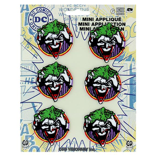 DC Comics DCコミックス アイロン ワッペン ジョーカー 6個セットP-DC-132-S 送料無料 激安 お買い得 キ゛フト Joker マルチカラー 有名な フェイス