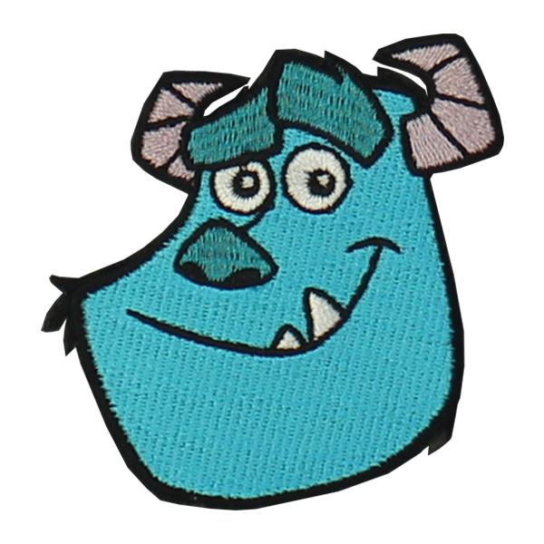Loungefly ラウンジフライ × ディズニー ワッペン モンスターズインク マルチカラー DISNEY 新着 サリー ブルー オンラインショッピング ピクサー