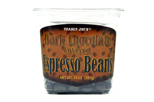 Trader Joe's 【トレーダージョーズ ダークチョコレート コーヒービーンズ 397g(14oz)】DARK CHOCOLATE COVERED ESPRESSO BEANS 397g(14oz)