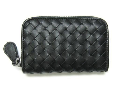 ボッテガヴェネタ 財布 114075-V4651-1000 BOTTEGA VENETA ボッテガ ラウンドファスナー おしゃれ コインケース ブラック 絶品 ネロ コインパース VN キャッシュレスで5%還元 あす楽対応
