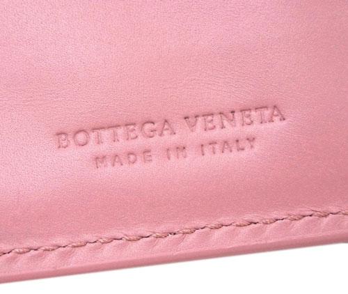 ボッテガヴェネタ 財布 132357-5718 BOTTEGA VENETA ボッテガ 二つ折り ミディアム財布 イントレッチャート カーフ ブドワール アウトレット あす楽対応