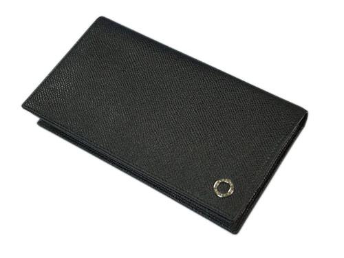 082f6baa7e08 ブルガリ 財布 BVLGARI メンズ ファスナー長札 長財布 7枚カードブルガリブルガリ グレインカーフ ブラック シルバー金具 30398- メンズ財布