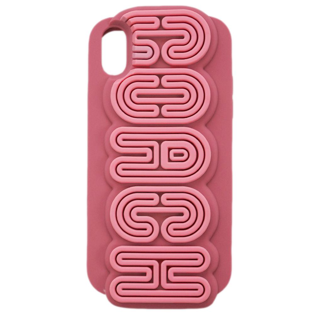 【母の日クーポン】コーチ iPhoneケース 75872-MC/D3 COACH カバー iPhone XR ケース シリコン ロゴ マルチカラー/ダークピンク アウトレット キャッシュレスで5%還元!【5/16 10時迄】