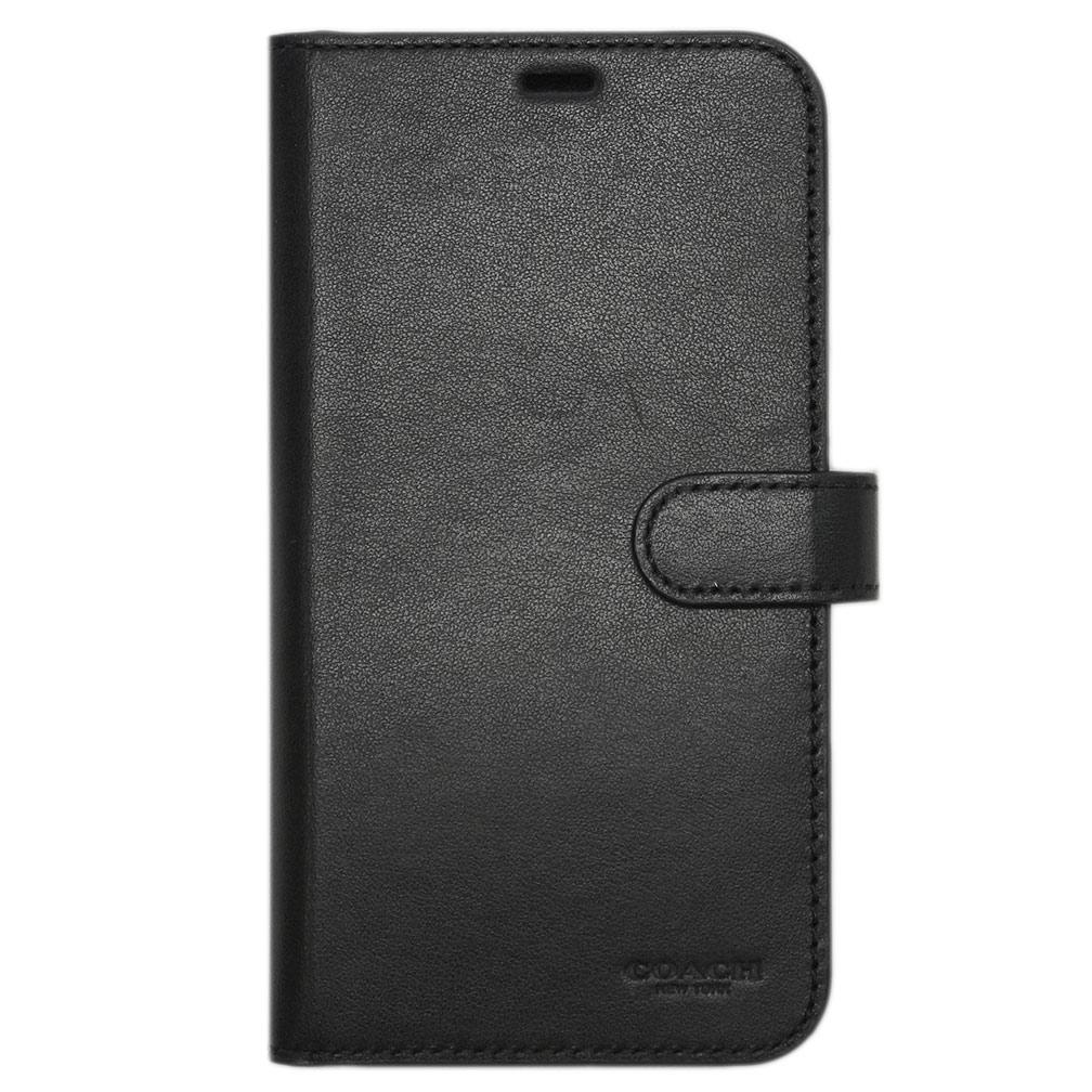 【母の日クーポン】コーチ iPhoneケース 33018-BLK COACH カバー iPhone XR ケース フォリオ ブラック アウトレット キャッシュレスで5%還元!【5/16 10時迄】
