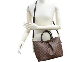 d21d566df8 Louis Vuitton bag N41546 LOUIS VUITTON ヴィトンダミエ LV tote bag 2WAY Siena MM エベヌ
