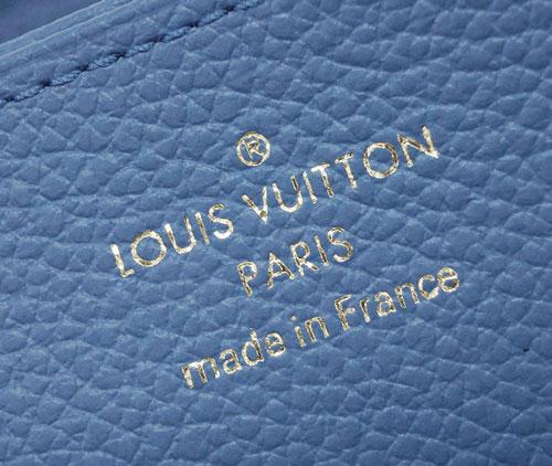 P9倍~ ルイヴィトン 財布 M63925 LOUIS VUITTON ヴィトン モノグラム・アンプラント LV ラウンドファスナー長財布 ジッピー・ウォレット ブルージーン クレーム 専用箱付き キャッシュレスで5%還元要エントリーR2 6 24 23 59迄rodBCxe