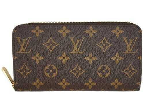 ルイヴィトン 財布 M41894 LOUIS VUITTON ヴィトン LV モノグラム ラウンドファスナー長財布 ジッピー・ウォレット ローズ・バレリーヌ