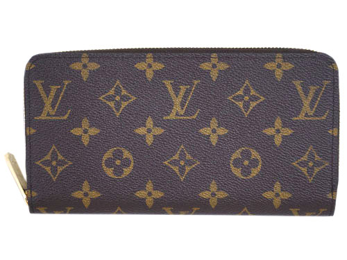 ルイヴィトン 財布 M41896 LOUIS VUITTON ヴィトン LV モノグラム ラウンドジップ長財布 ジッピー・ウォレット コクリコ
