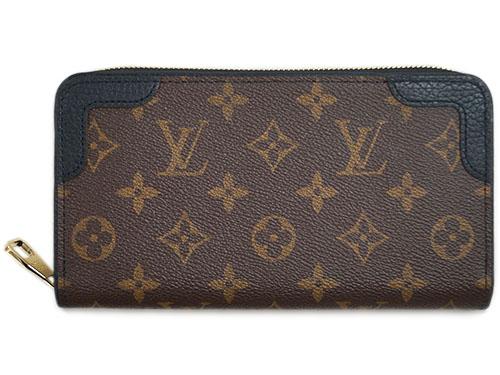 ルイヴィトン 財布 M61855 LOUIS VUITTON ヴィトン LV モノグラム ラウンドジップ長財布 12枚カード ジッピーウォレット レティーロ ノワール