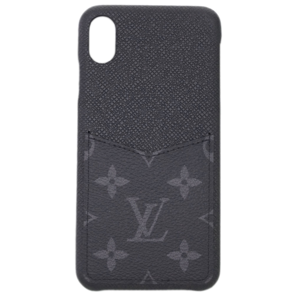 【母の日クーポン】ルイヴィトン アクセサリー M67428 LOUIS VUITTON ヴィトン モノグラム・エクリプス LV iPhoneケース カバー IPHONE・バンパー XS MAX 専用箱付き キャッシュレスで5%還元!【5/16 10時迄】