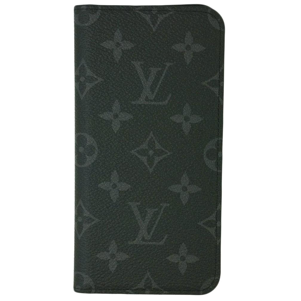 ルイヴィトン アクセサリー M67484 LOUIS VUITTON ヴィトン モノグラム・エクリプス LV iPhoneケース カバー IPHONE XS MAX・フォリオ あす楽対応