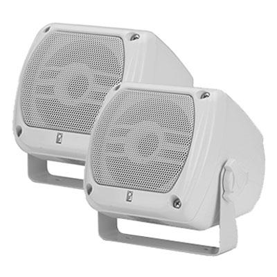 ボックス型防水スピーカー ホワイト MA-840