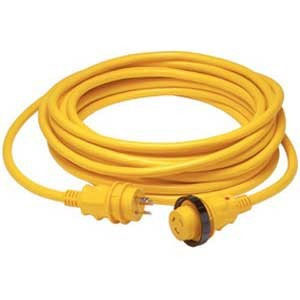 マリンコ両端プラグ&電源ケーブルセット6152SPP-25 50A125V/250V ケーブル7.5m