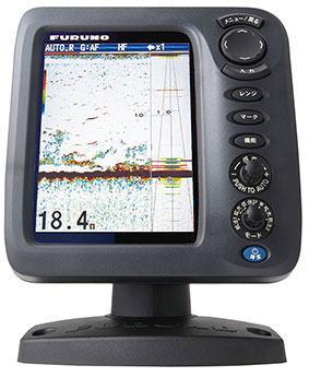 フルノ 5.7型デジタル魚探 FCV-628 丸型振動子