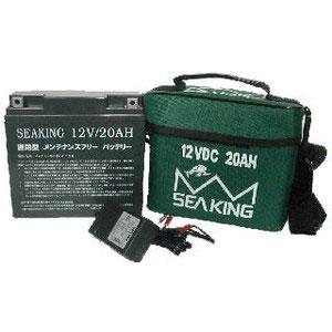 シーキング バッテリーパック 12V20A